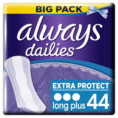 Always Dailies long plus inlegkruisjes