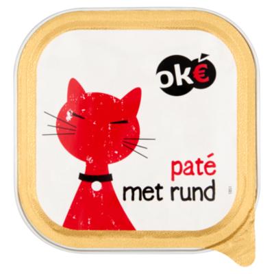 Budget Huismerk Kat pate rund