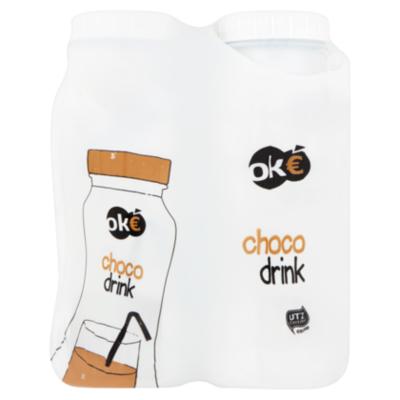 Budget Huismerk Chocodrink 4-pack