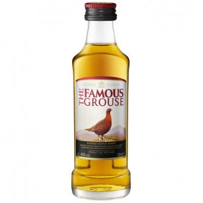 Famous Grouse Scotch whisky mini