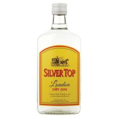 Bols silver dry top gin
