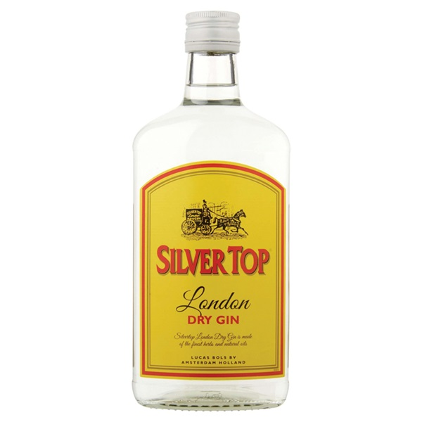 Bols silver dry top gin