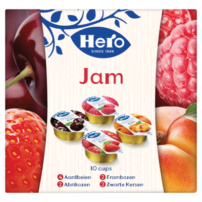 Hero Jam cupjes 10 stuks