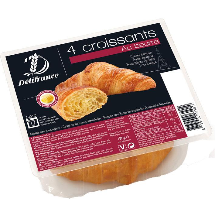 Délifrance Roomboter croissants