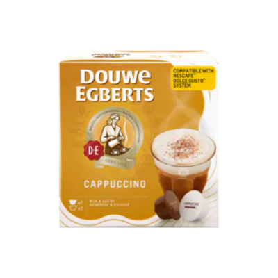 Douwe Egberts Cappuccino Koffiecups