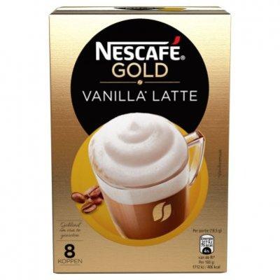 Nescafé Gold vanilla latte oploskoffie