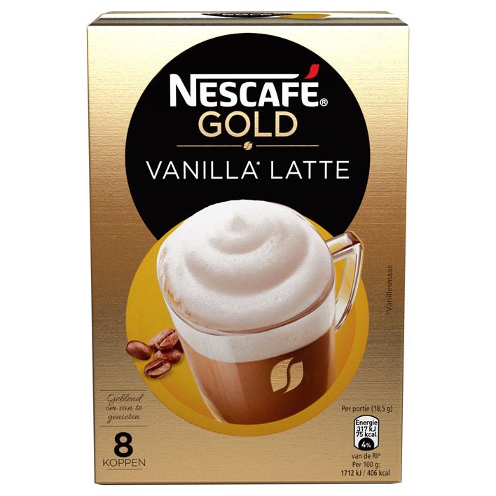 Nescafé Gold vanilla latte