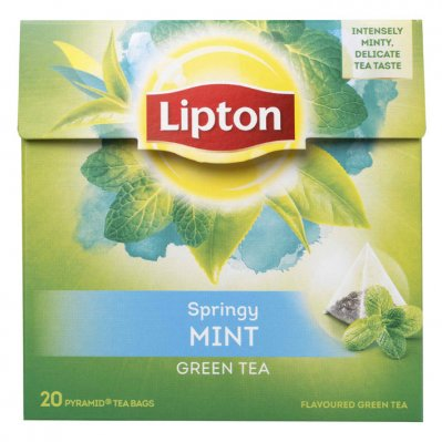 Lipton Green intense mint thee