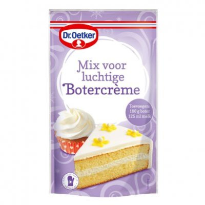 Dr. Oetker Mix voor luchtige botercrème