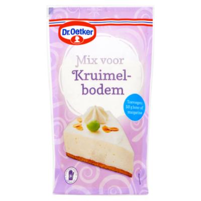 Dr. Oetker mix voor kruimelbodem