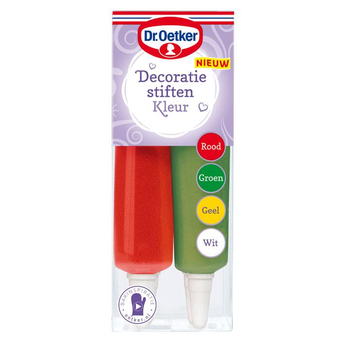 Dr. Oetker Decoratiestiften kleur