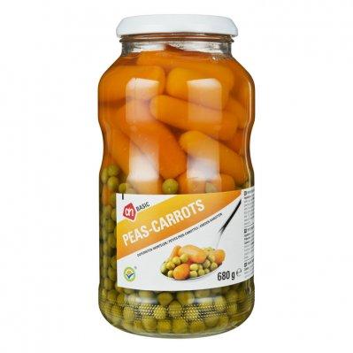 Budget Huismerk Doperwtjes - worteltjes