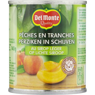 Del Monte Perziken in schijven in lichte siroop
