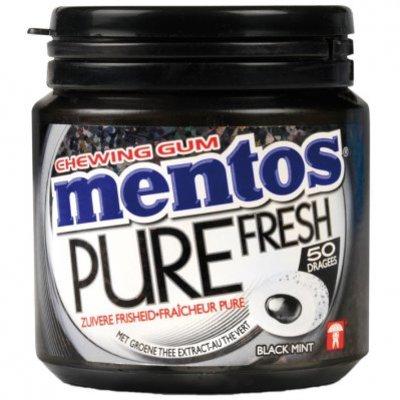 Mentos Gum Bottle pure fresh black mint