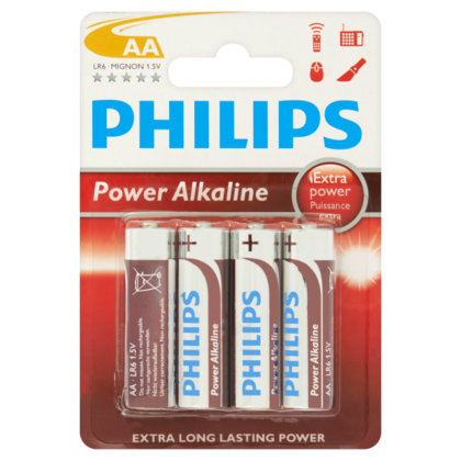 Philips Batterij Powerlife AA