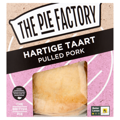 The pie factory Pulled pork pie