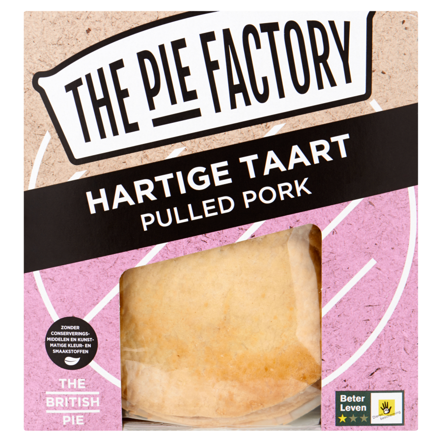 The pie factory Pulled pork pie