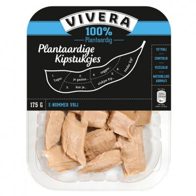 Vivera Plantaardige kipstukjes