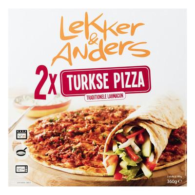 Lekker&Anders Turkse pizza