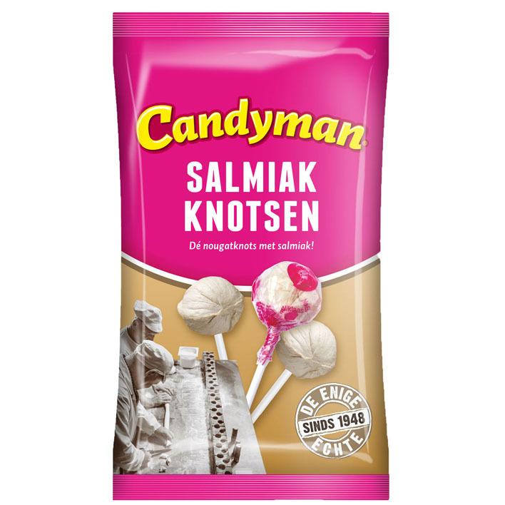 Candyman Salmiak knotsen