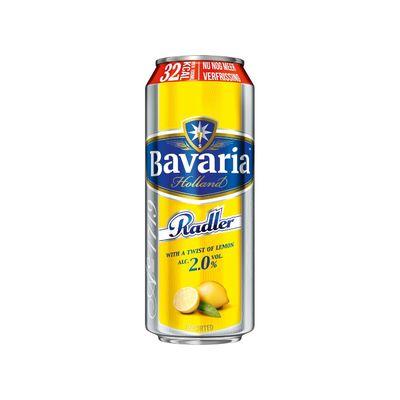 Bavaria 2.0% Radler Citroen Blik Bier