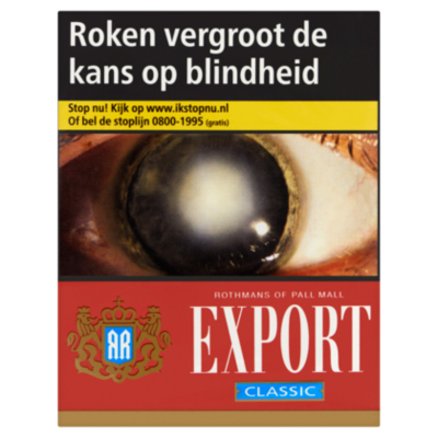 Pall Mall Sigaretten export