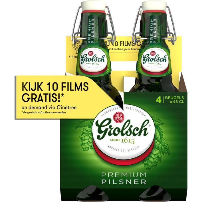 Grolsch Premium pilsner beugelfles