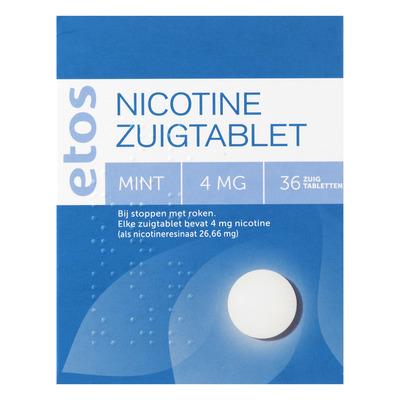 Huismerk Nicotine zuigtabletten 4 mg