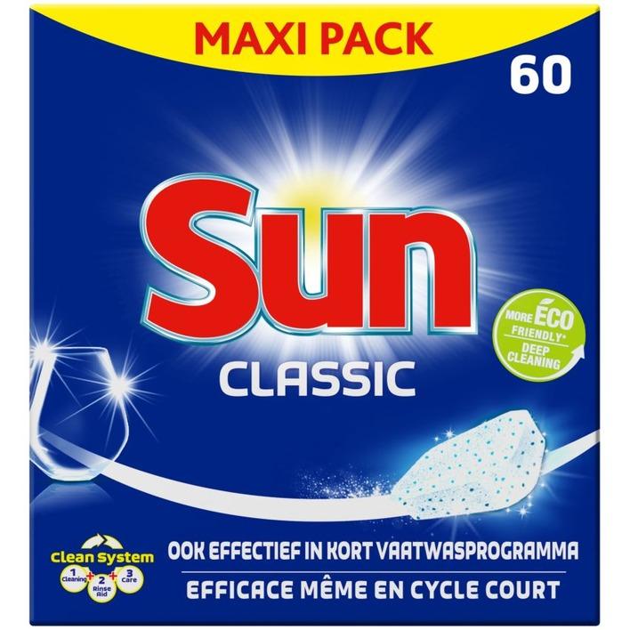 Sun Classic vaatwastabletten