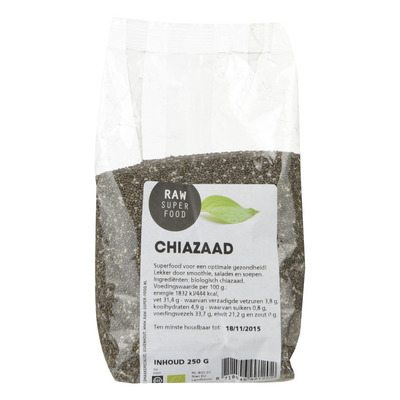 Raw Organic Food Chiazaad
