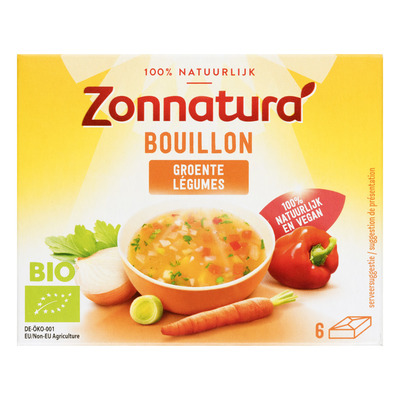 Zonnatura Groentebouillon tabletten