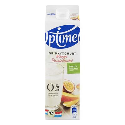 Optimel Drinkyoghurt mango passievrucht 0% vet