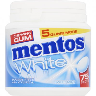 Mentos Gum White sweet mint