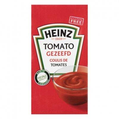 Heinz Tomato gezeefd