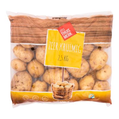 Aardappelen zeer kruimig Sevilla
