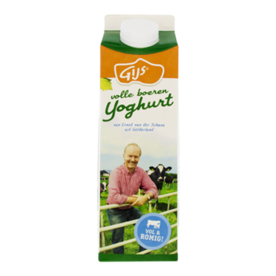 GIJS Volle boerenyoghurt