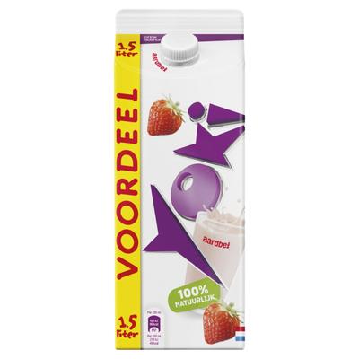 Yoki Drinkyoghurt aardbei voordeel