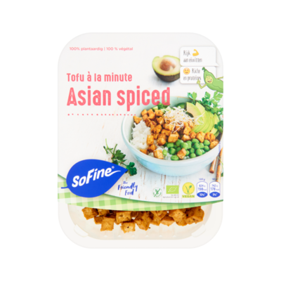 SoFine Tofu à la Minute Asian Spiced