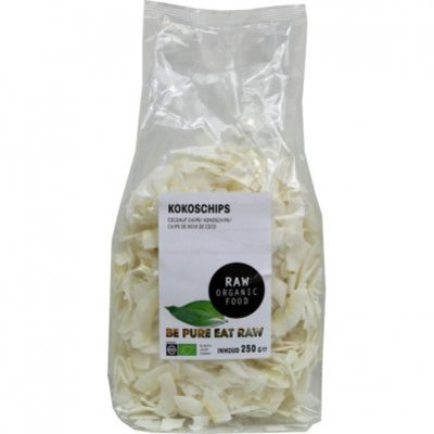 Raw Organic Food Kokoschips