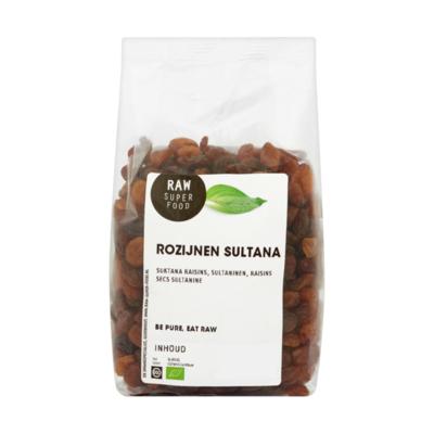 Raw Organic Food Rozijnen Sultana