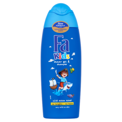 Fa Douchegel en shampoo pirate kids