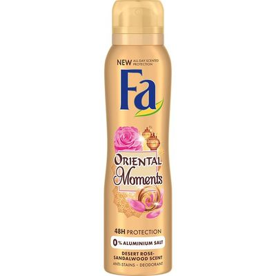 Fa Oriental moments desert rose spray