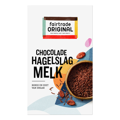 Fairtrade Original Chocolade hagelslag melk