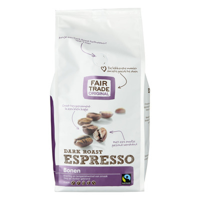 Fair Trade Original Espresso bonen dark roast