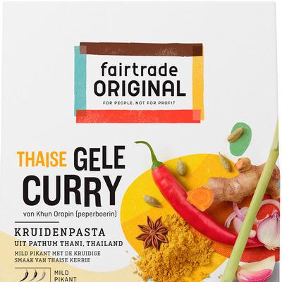 Fairtrade Original Gele curry kruidenpasta