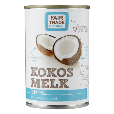 Fair Trade Original Kokosmelk