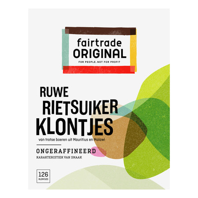 Fairtrade Original Rietsuikerklontjes