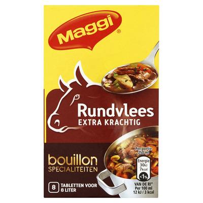 Maggi Extra krachtige rundvleesbouillon