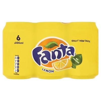 Fanta Frisdrank Lemon