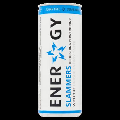 Slammers Energy drink light